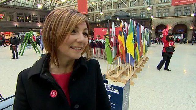 Valerie Mitchell, head of the Games Workforce, Glasgow 2014