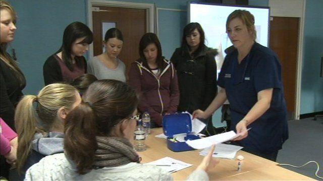 New recruits at Royal Berkshire Hospital