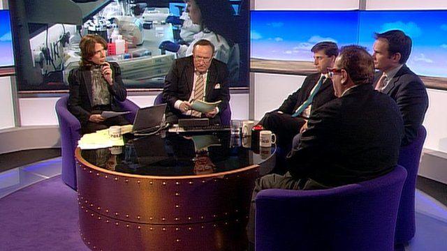Daily Politics panel debate Lord Saatchi film