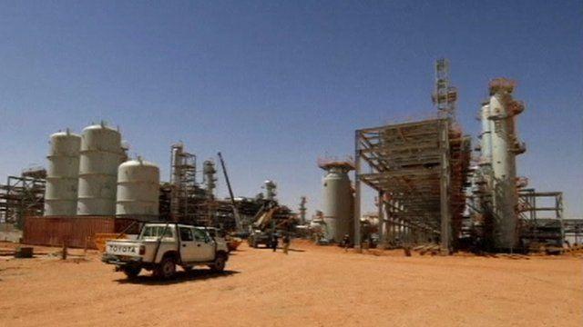 Oil installation at In Amenas, Algeria