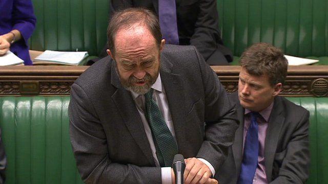 Food minister David Heath MP