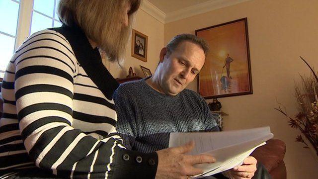 Matthew and Sandra Stevenson reading document