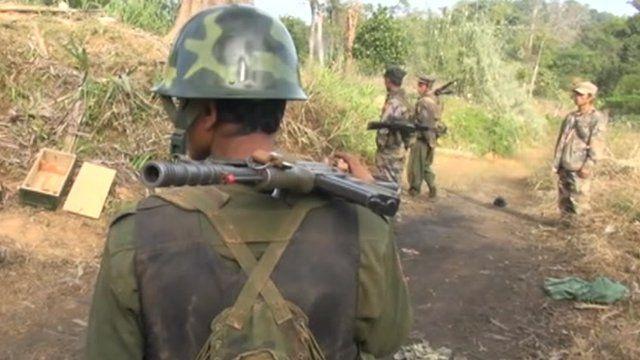 Troops in Burma