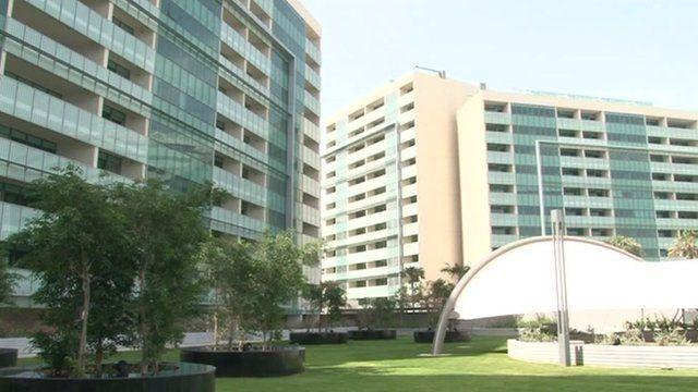 Apartment complex in UAE