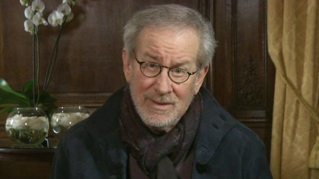 Steven Spielberg on the Andrew Marr Show