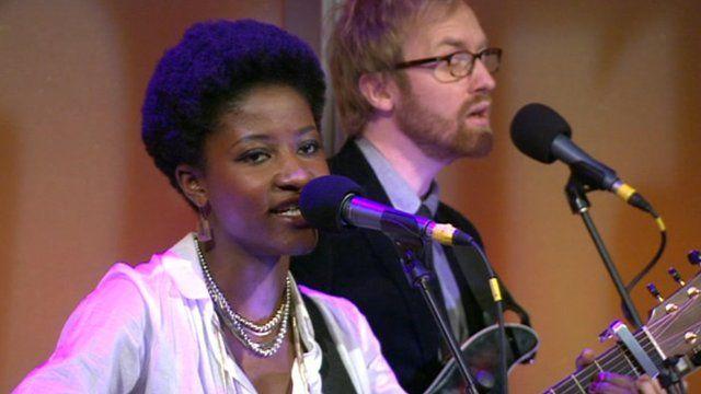 Josephine on the Andrew Marr Show