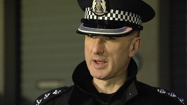 Chief Inspector Derek Paterson from Northern Constabulary