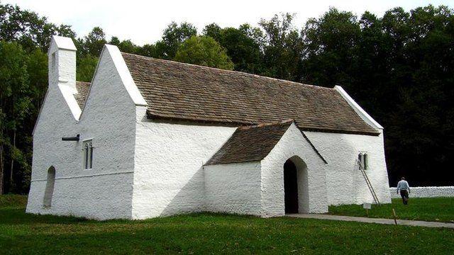 St Teilo's Church at St Fagans