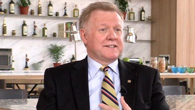Patrick Imbardelli, chief executive Pan Pacific Hotel