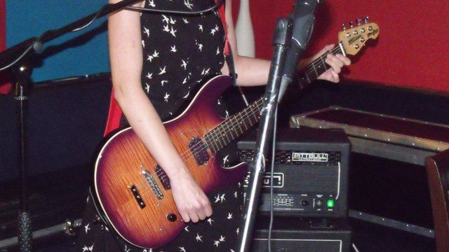 Open mic night at the Crown Inn, St John's, Worcester