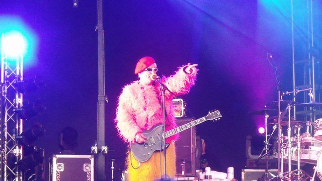 The Damned at The Wychwood Festival
