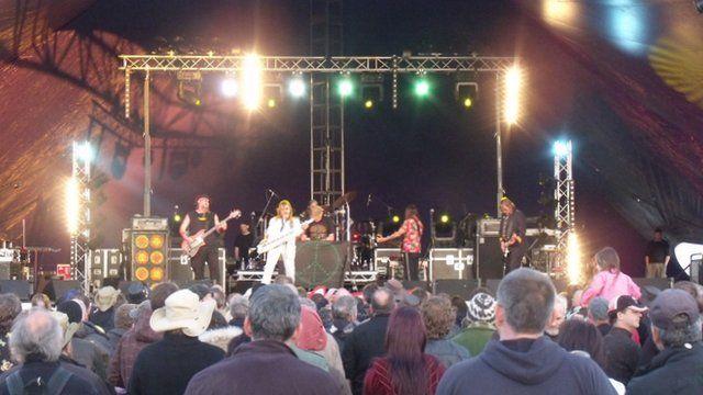 Hawkwind at The Wychwood Festival 2012