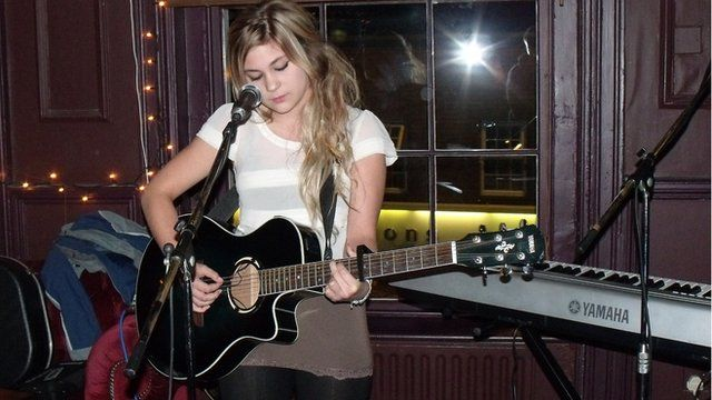 Open mic night at the Firefly, Worcester