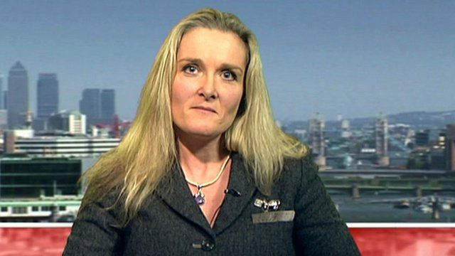Catherine Spencer, Chief Executive of the Army Families Federation