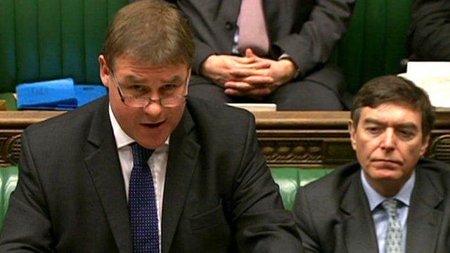 Defence Minister Mark Francois (left)