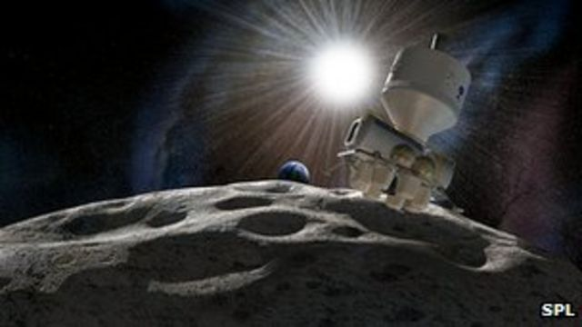 New venture 'to mine asteroids'
