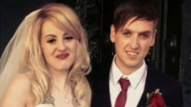 Katrina and John Ankers were married in September