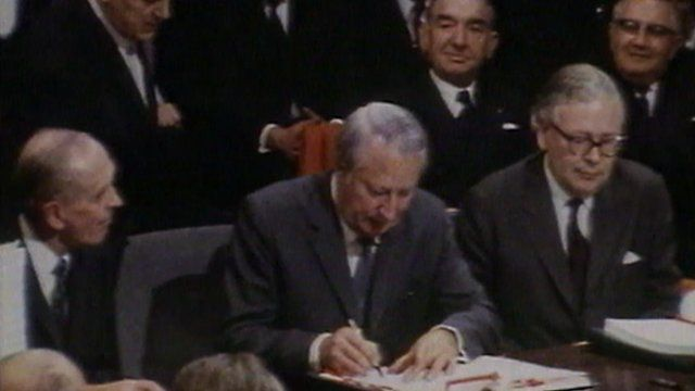 Britain joining the EU 40 years ago