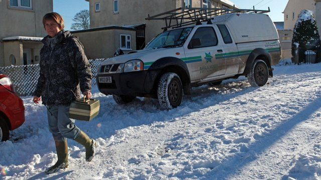 Meals being delivered despite the January snow