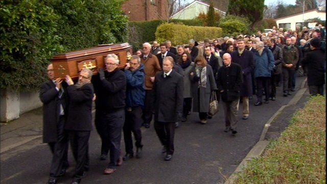 Funeral in Derry