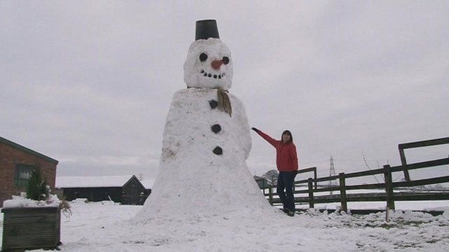 Stanley the snowman