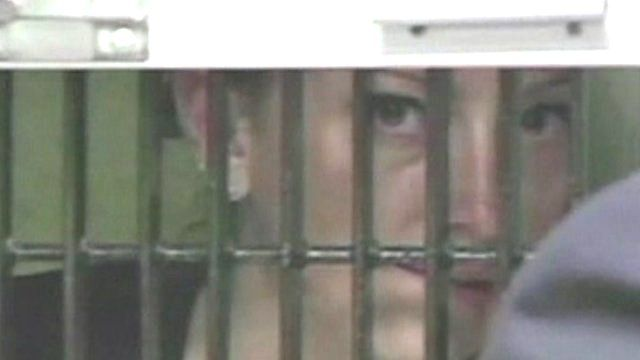 Florence Cassez behind bars