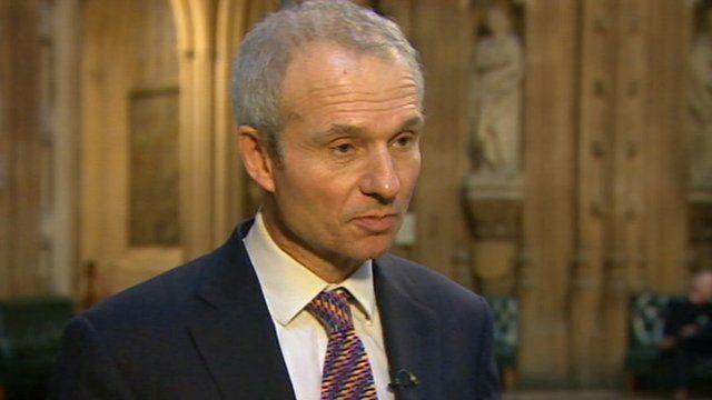 Foreign Office minister David Lidington MP