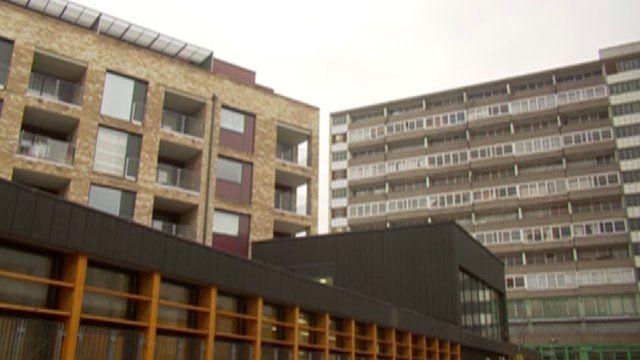 Tower blocks