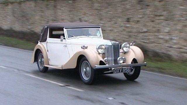 The 1937 MG sportscar