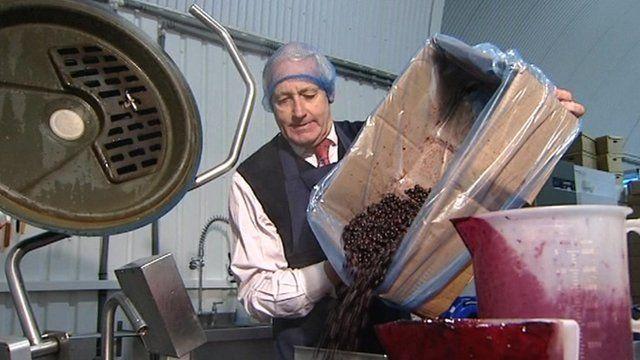 Neil Hamilton making jam