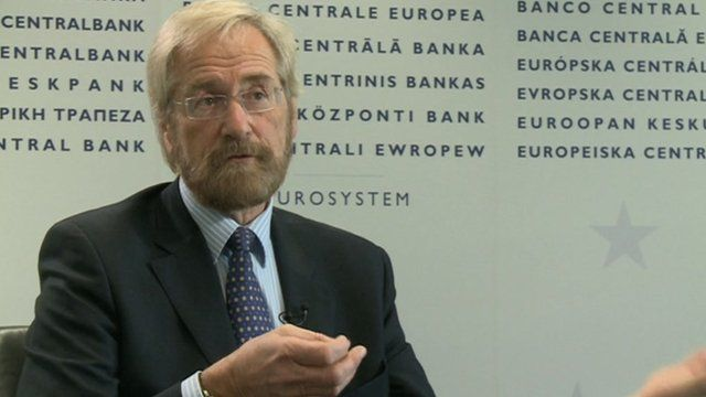 Peter Praet, on Executive Board of the European Central Bank