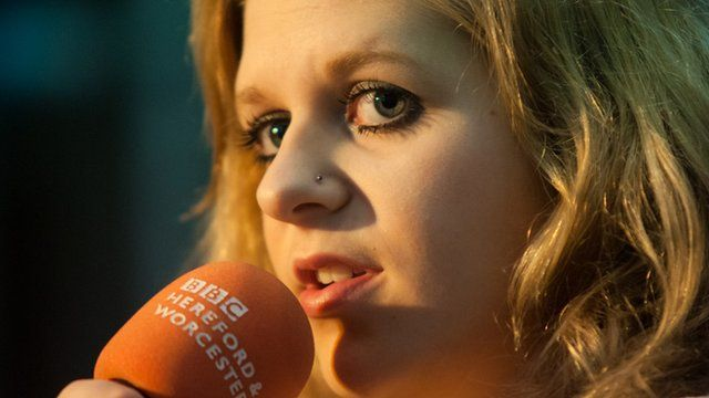 Heidi Nicola's BBC Introducing session in Hay-on-Wye