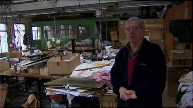 Peter Smyth surveys what remains of the last linen factory in Belfast