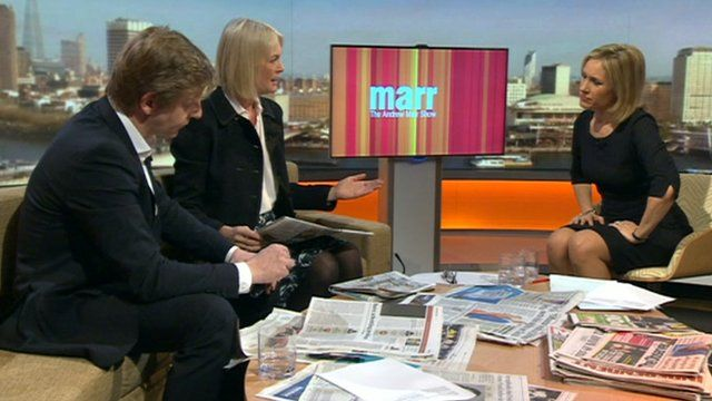 The Andrew Marr show newspaper review