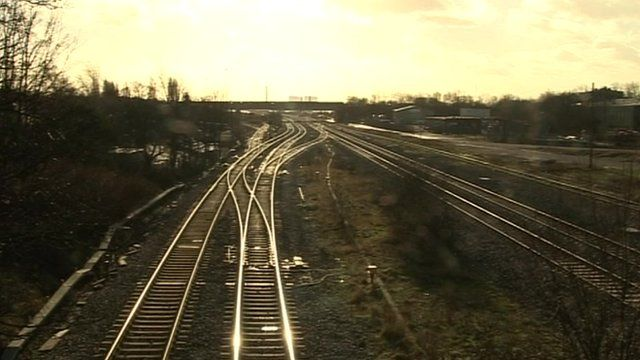 Toton Rail Hub Of The Future Bbc News
