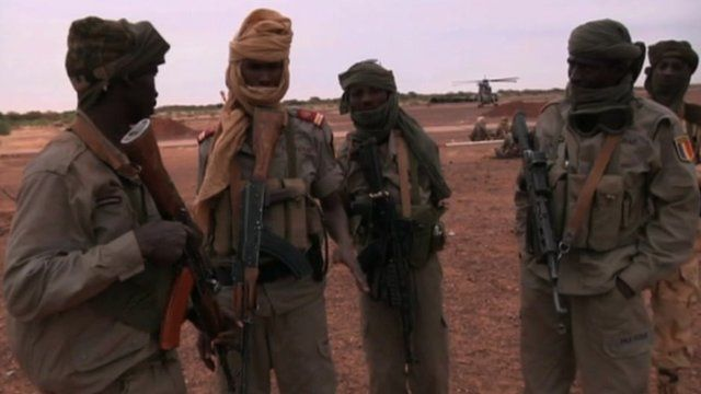 African troops in Mali