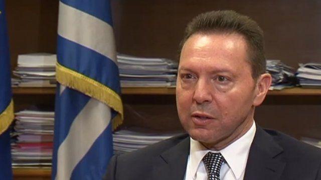Yannis Stournaras, Greek Finance Minister