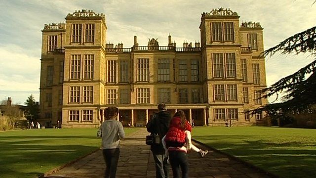 The proposed high speed rail would run across part of the Hardwick Hall estate