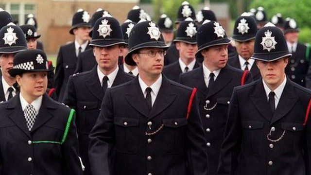 Young police officers
