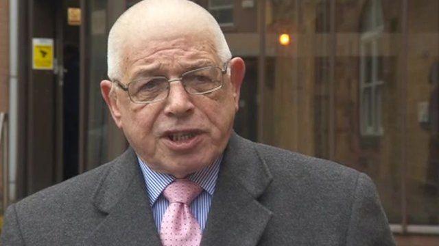 Cumbria County Council's Eddie Martin