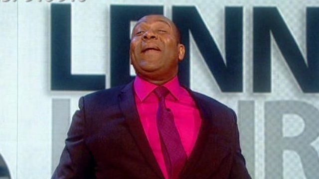 Lenny Henry hosting Comic Relief