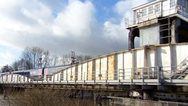 Selby swing bridge