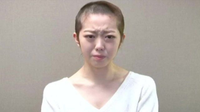 Minegishi Minami, Former member of the Japanese girl group AKB48