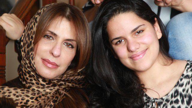 Princess Basmah bint Saud bin Abdulaziz and her daughter