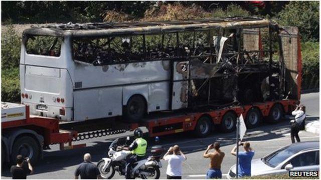 Bulgaria Burgas bus bomb accused face trial in absentia
