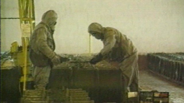North Korean nuclear workers