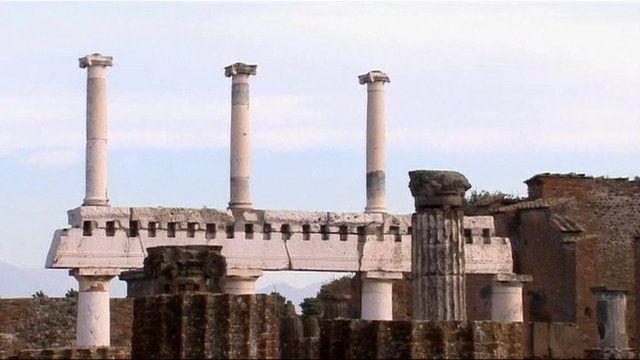 Part of Pompeii