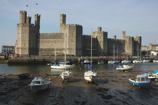 Caernarfon Castle - photo by Philip Halling