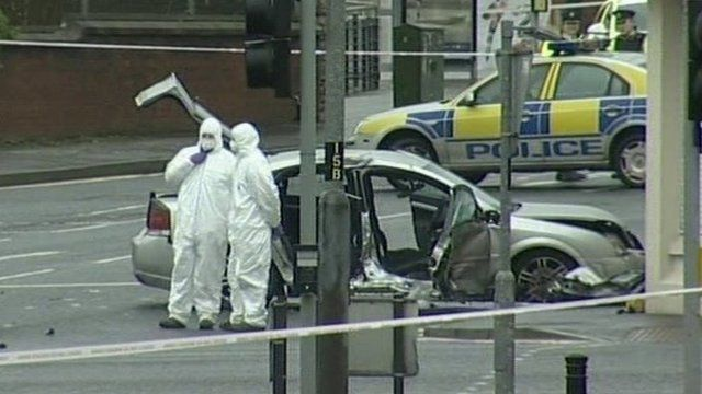 The police officer died in a collision on the Limavady Road early on Saturday