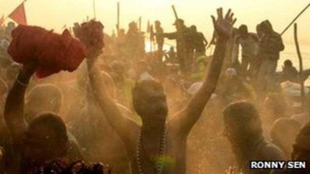 India's Kumbh Mela festival holds most auspicious day